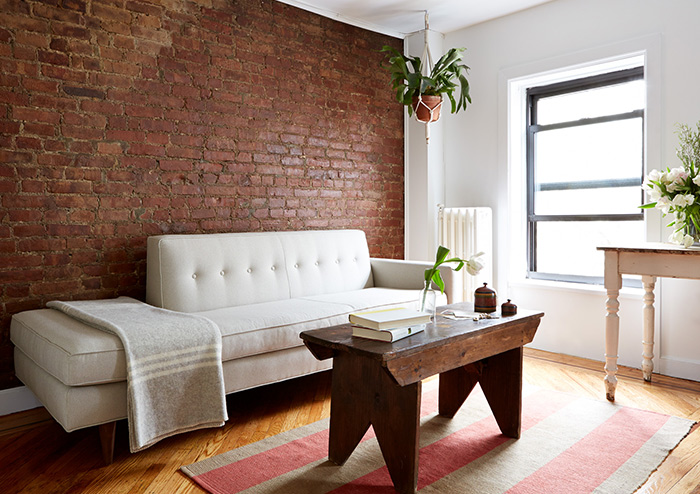 A Medical Resident's Modern & Budget-Friendly Brownstone, Design*Sponge