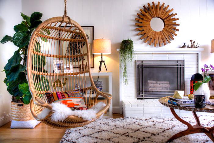 Home To Family and Furry Friends, A Cultivated and Eclectic 1950's Ranch House
