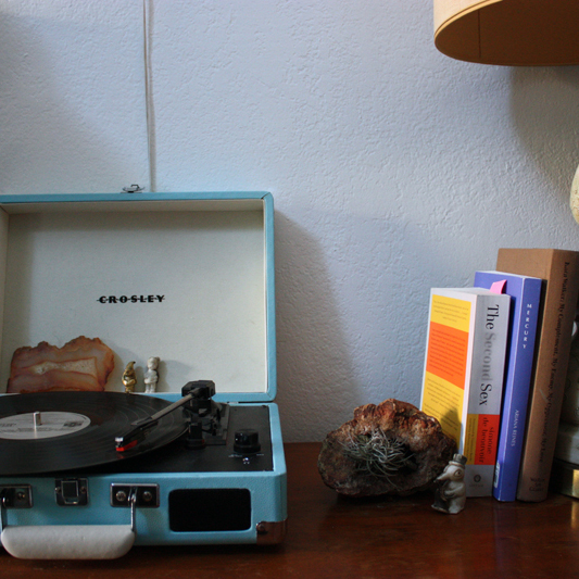 Detail - record player