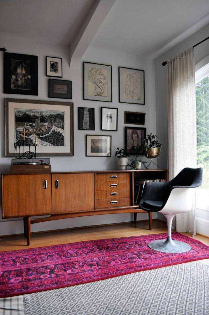 A Vintage Red House (Moderately) West, on Design*Sponge