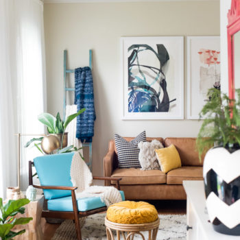 A Colorful, Layered Home Focused on Fun and Family