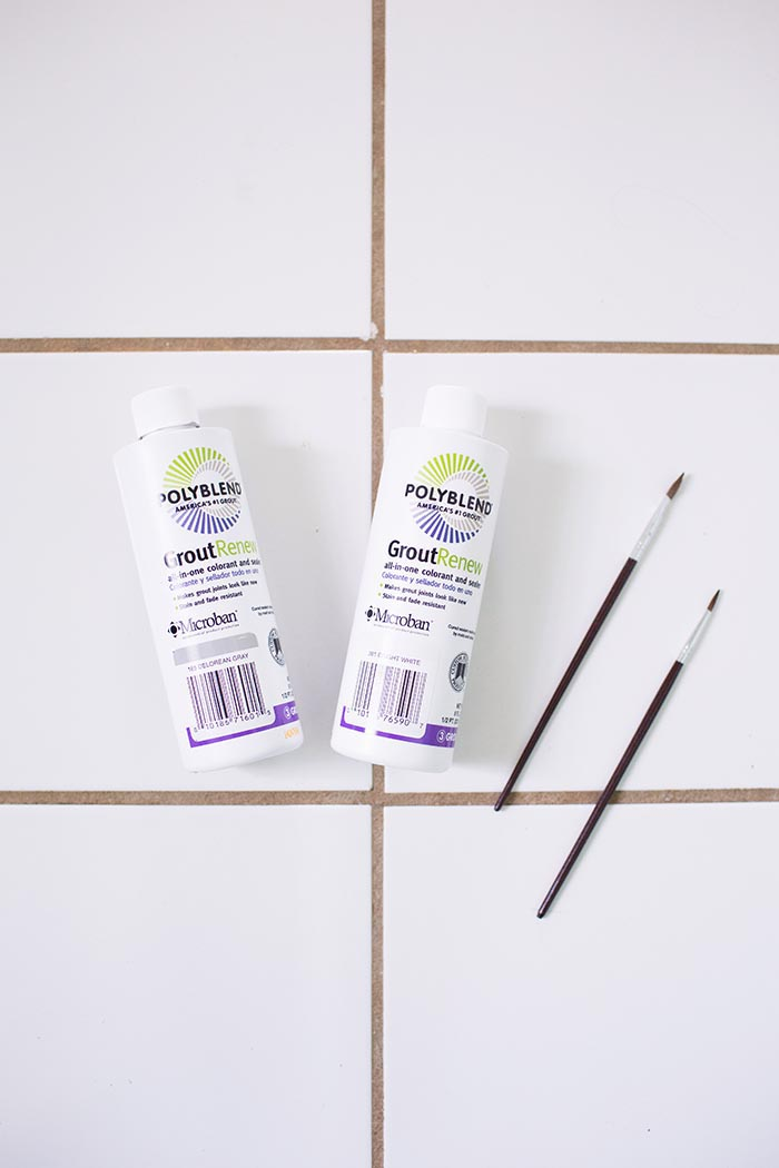 DIY Project: How to Recolor Your Grout – Design*Sponge