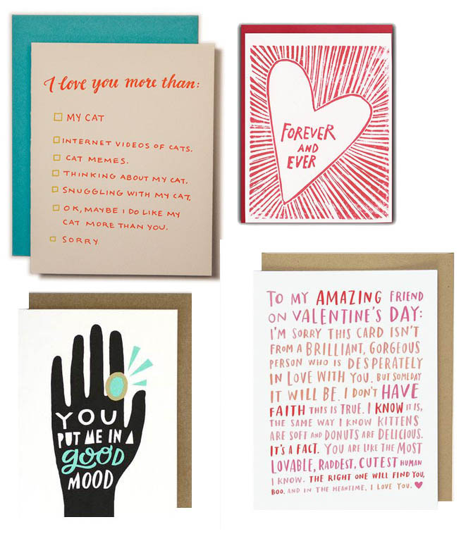 40 Valentines Day Cards to Send to Loved Ones DesignSponge – Send Valentines Day Cards