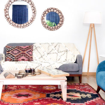 In Turkey, A Home Layered with Prints, Colors and Kilims