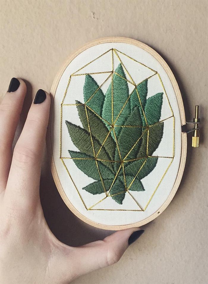 18 Embroidery Instagram Feeds To Follow Design Sponge