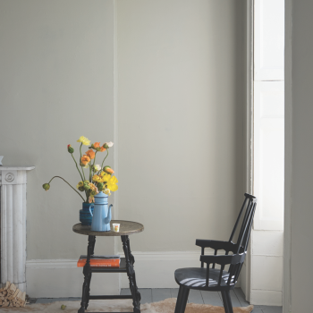 New Color 1: Shadow White No. 282. For devotees of lighter neutrals on both walls and woodwork, this color is the perfect contrast to the slightly darker Shaded White.