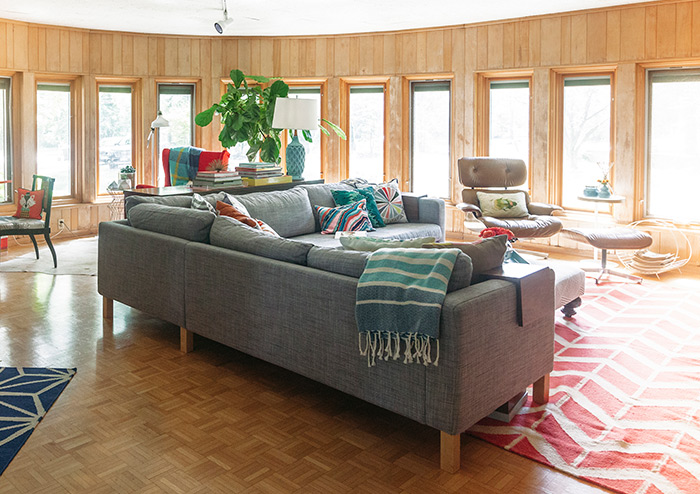 In Ohio, Trading in Traditional for Mid-Century Modern, Design*Sponge