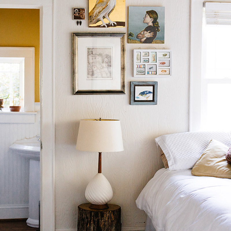 A Chef and a Painter's Art-Filled South Carolina Cottage, Design*Sponge