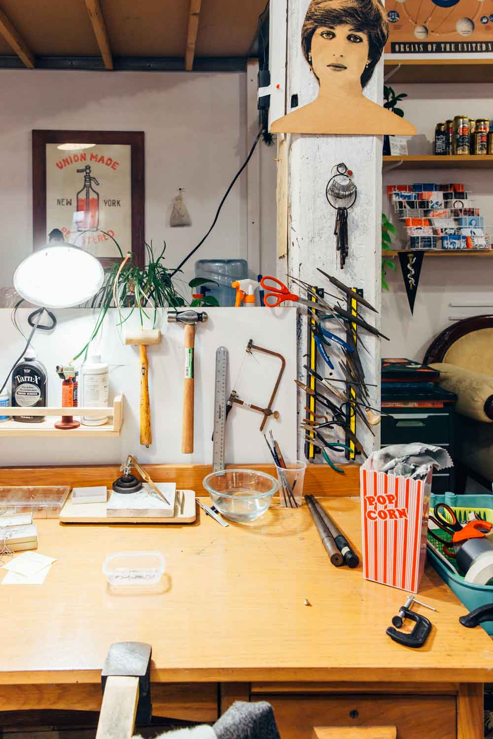 Studio Tour: The Boxing & Labeling Department at The Pencil Factory, on Design*Sponge