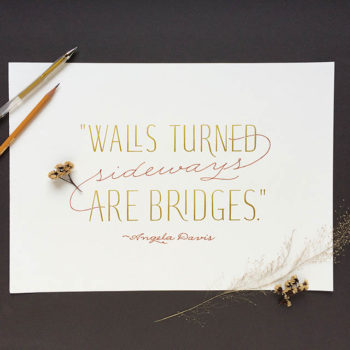Hand-Lettered Quotations: Day 3