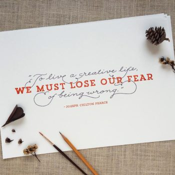 Hand-Lettered Quotations: Day 2
