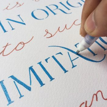 Hand-Lettered Quotations: Day 4