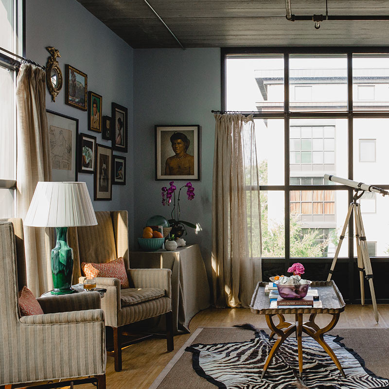 A Charleston Attorney's Traditional Twist on an Industrial ...