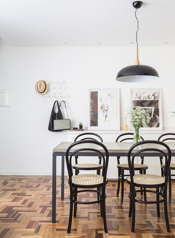 Bold Hues & Beautiful Floors Fill a Couple's Brazilian Home, Design*Sponge