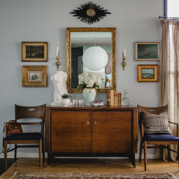 A Charleston Attorney's Traditional Twist on an Industrial Space