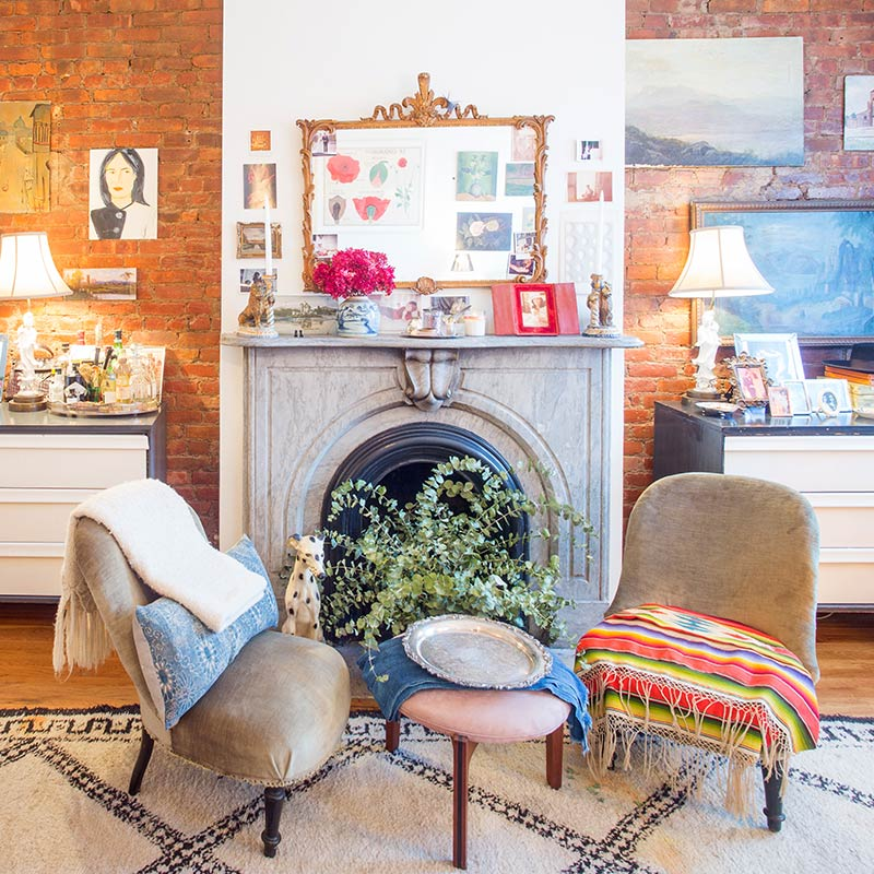 400 Square Feet of Sanctuary in NYC, Design*Sponge