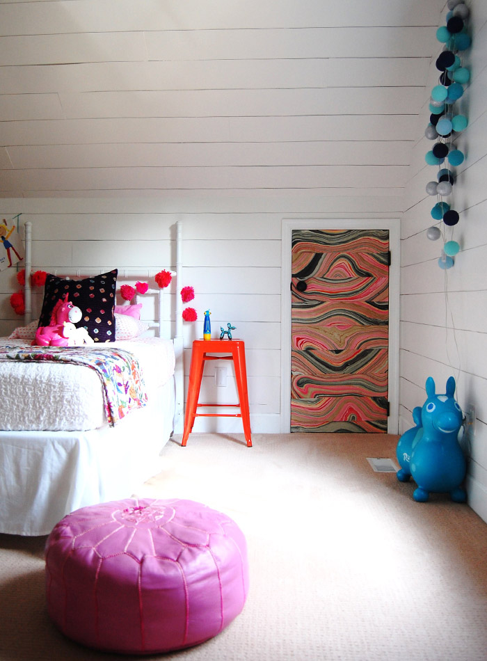 DIY & Pops of Color Modernize a Virginian Colonial, Design*Sponge