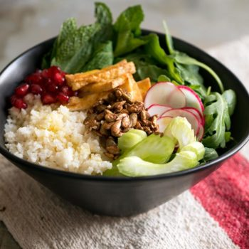 """In the Kitchen With: Lukas Volger's Cauliflower """"Couscous"""" Bowl"""