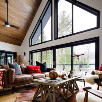 Before and After: A Designer Cottage in Haliburton County, Ontario