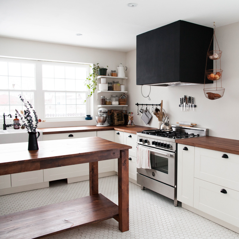 Before And After: A Dated, Dark Kitchen Gets A DIY Remodel