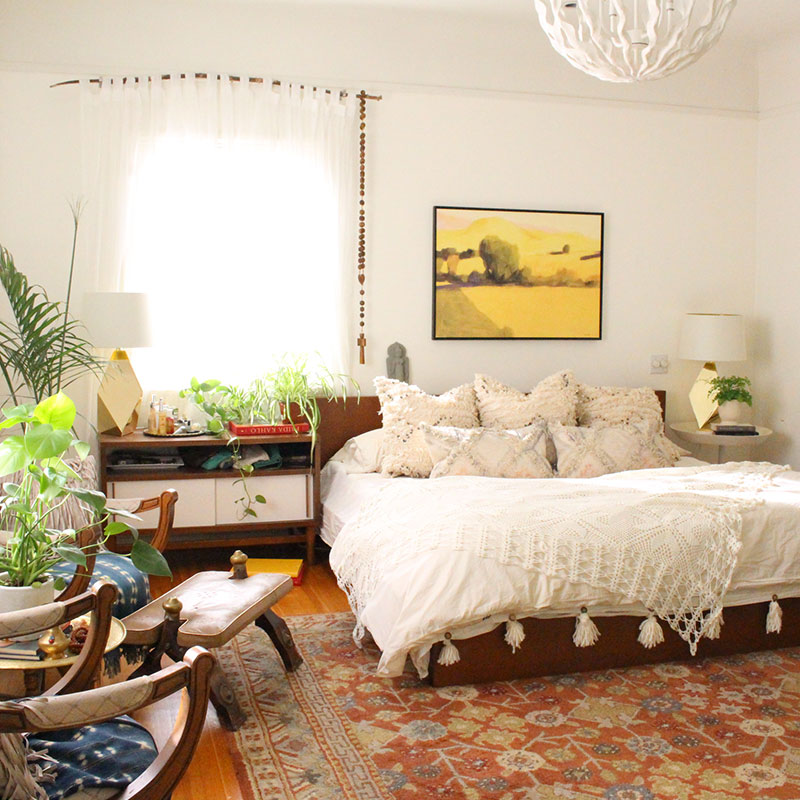 A Beverly Hills Hairstylist's Bohemian Home, Design*Sponge