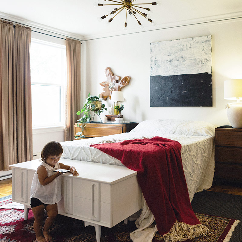 A Kid-Friendly and Fashionable Home in Chicago, Design*Sponge