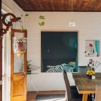 A Remote Cottage in Australia Teeming with Artwork