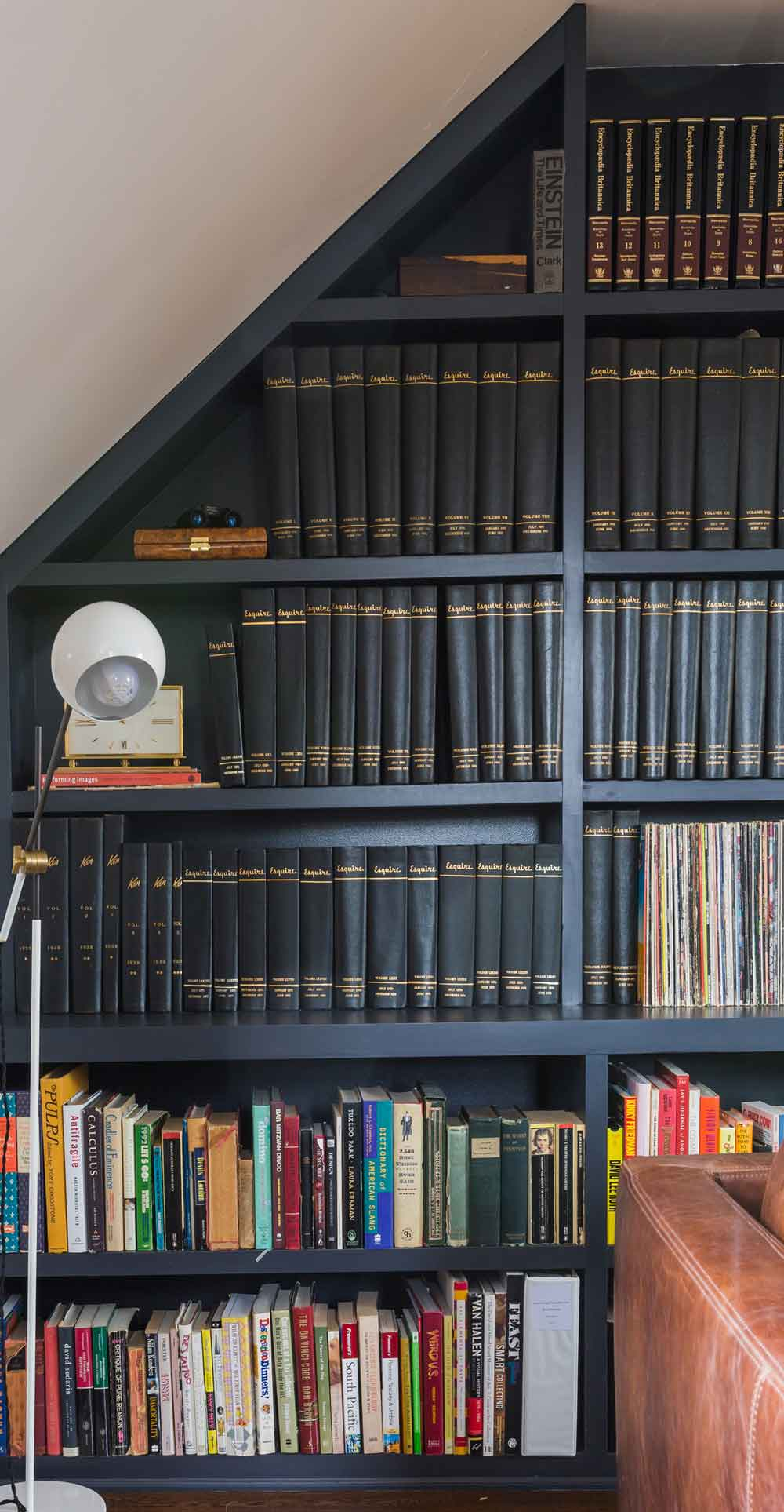Before & After: An Esquire Magazine Library, on Design*Sponge