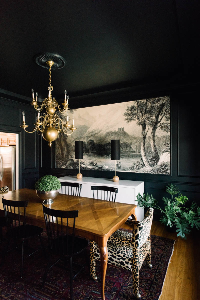 Paint it black 15 bold and beautiful dark walls design Room with black walls