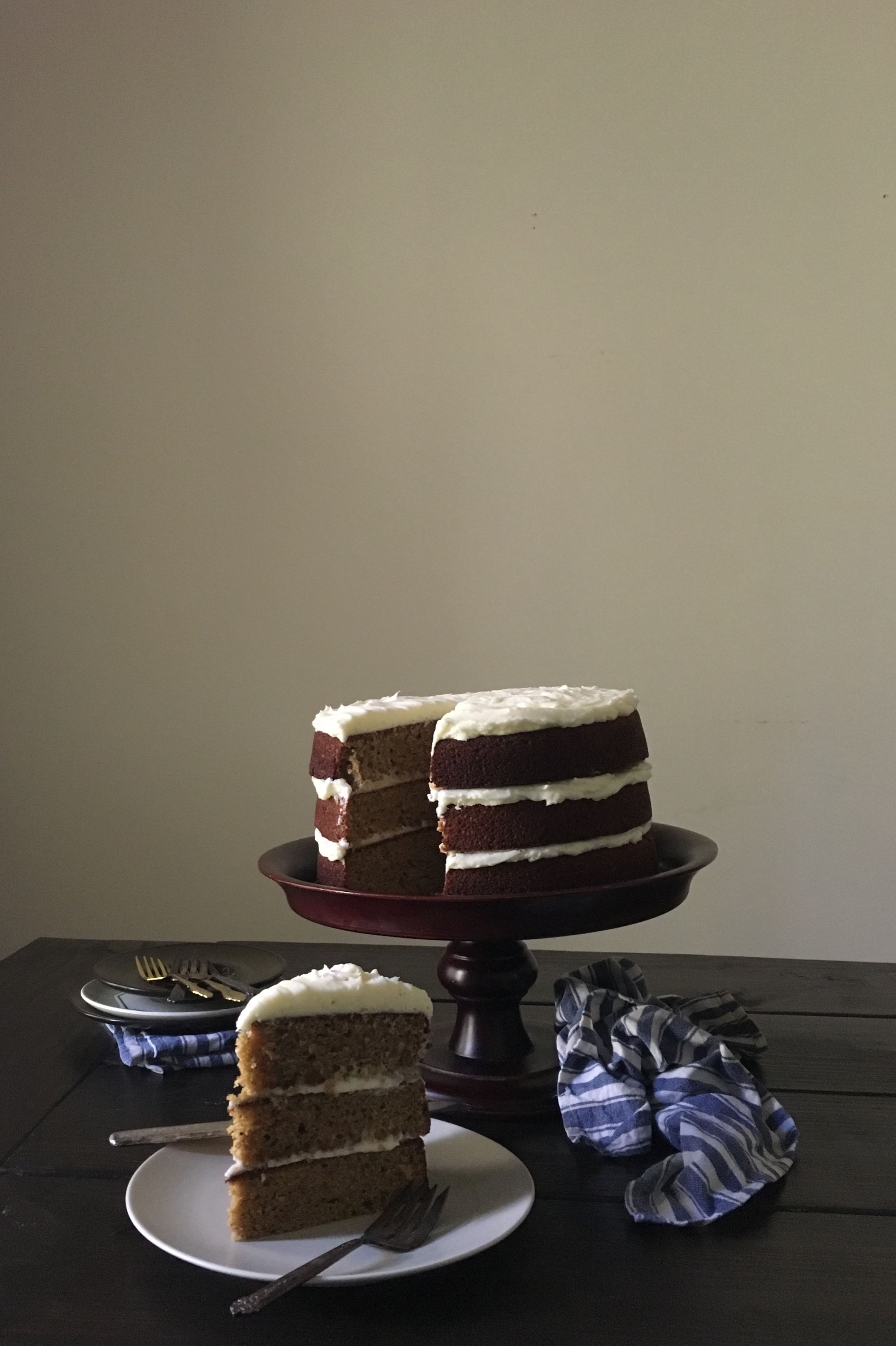 In The Kitchen With The Salted Table S Espresso Buttermilk Cake