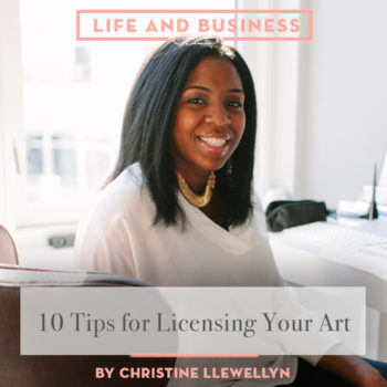 10 Tips for Licensing Your Art