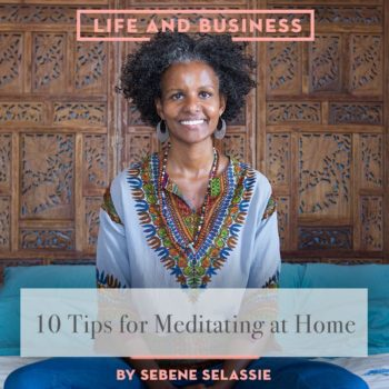 10 Tips for Meditating at Home
