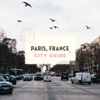 Paris, France City Guide