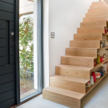 12 Storage Ideas for Under Stairs