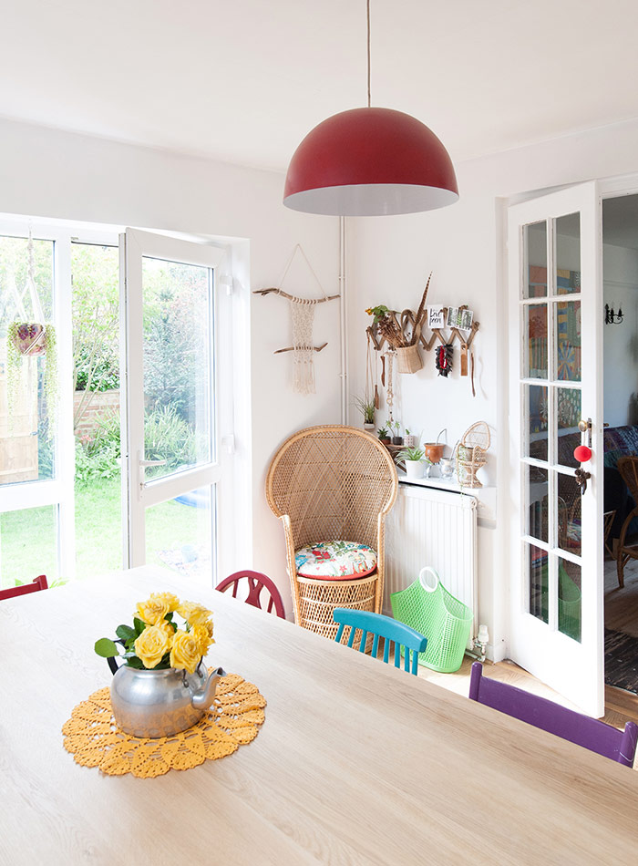 An English Home Goes from White to Wonderfully Colorful, Design*Sponge