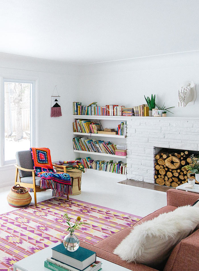 A Cheery Midwestern Home Dedicated to Keeping Spirits Bright, Design*Sponge