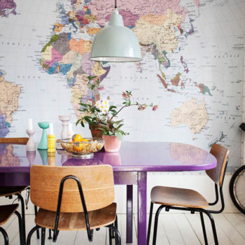 Our Favorite Interiors in Rainbow Colors
