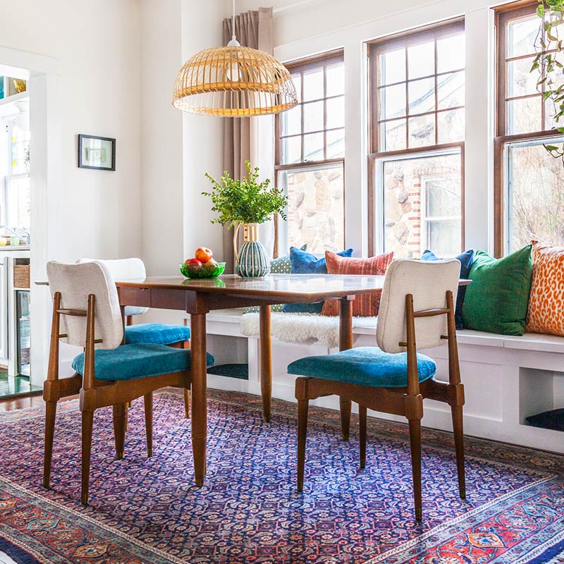 Decorating Experiments Enliven a Missouri Craftsman, Design*Sponge
