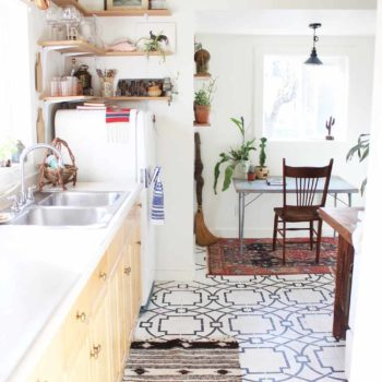 Before & After: A Bright Kitchen Makeover Honoring Vintage Wares
