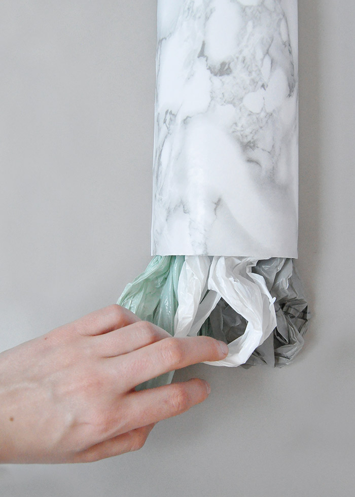 Diy Plastic Bag Holder Design Sponge