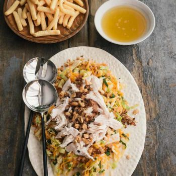 In the Kitchen With: Christine Ha's Vietnamese Chicken Salad