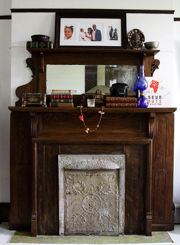 An Actor's Brooklyn Brownstone Honors His Heritage, Design*Sponge