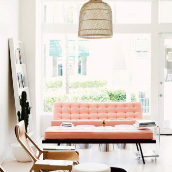 12 Times a Pink Sofa Made the Room