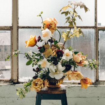 Spring Floral Arrangement by Swallows & Damsons