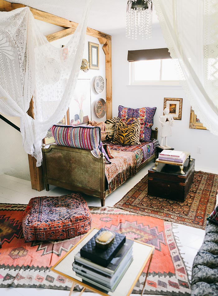 In North Texas A Maximalist S Layered Bohemian Home