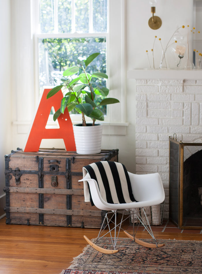 A Bungalow Full of Thrifty Finds & Charming Surprises, Design*Sponge