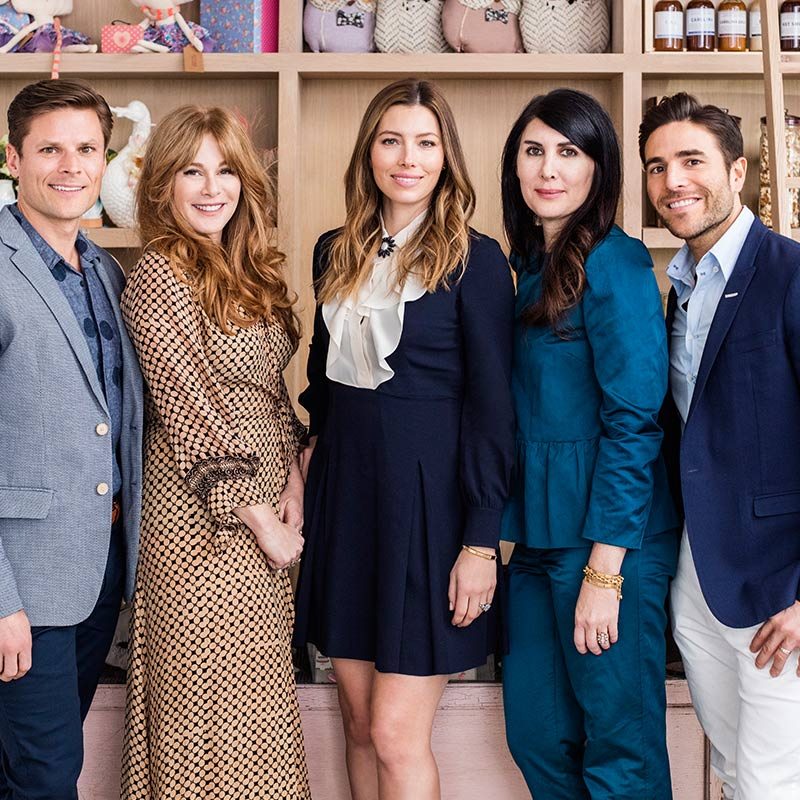 Glance Inside Jessica Biel & Co.'s Kid-Friendly Restaurant Au Fudge, Design*Sponge