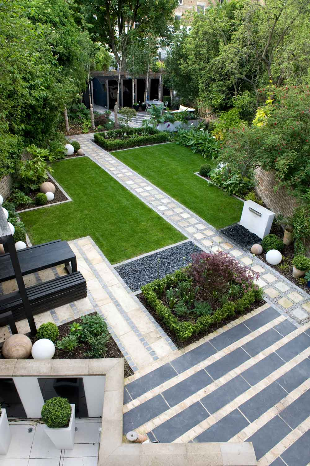 Before & After: A Modern Japanese Garden in North London ... on Backyard Patio Layout id=28371