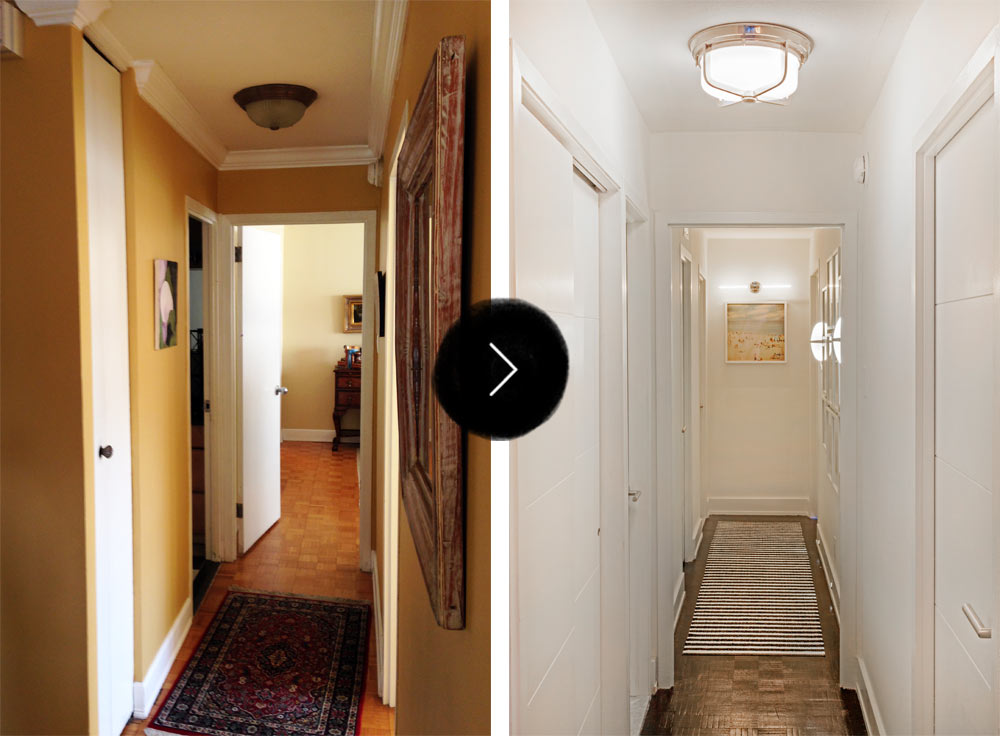 Before & After: A Philadelphia Family Apartment in the Heart of the City, on Design*Sponge