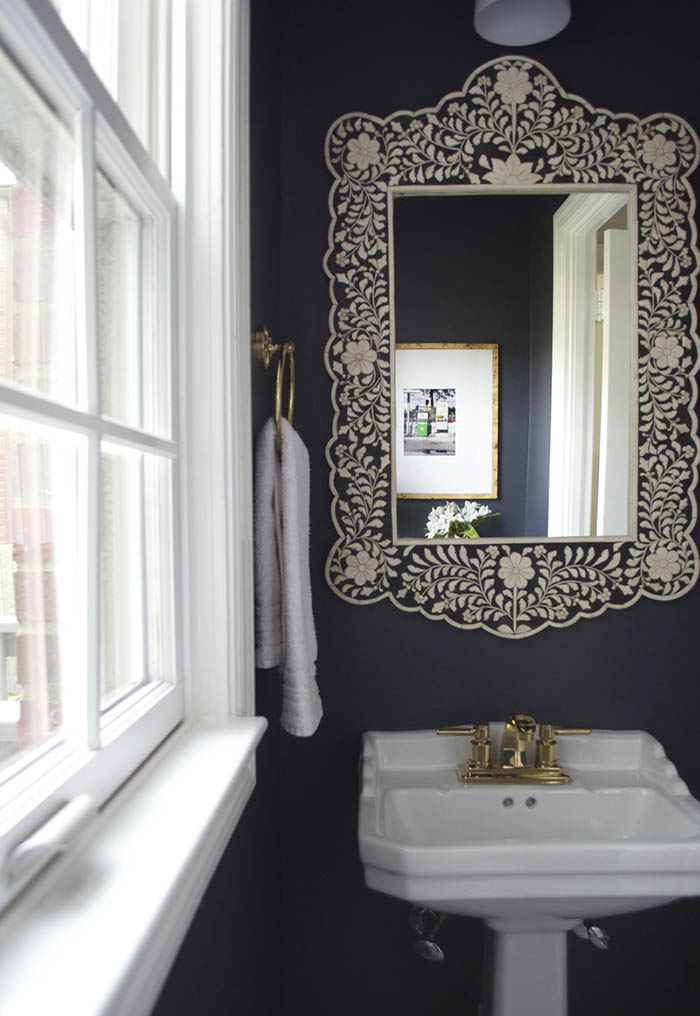 15 Beautiful Black and White Rooms, on Design*Sponge